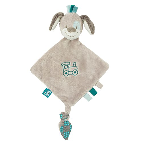 Nattou - Cyril The Dog - Small Doudou Security Blanket 27Cm back-1067061