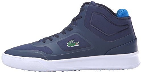 Lacoste Men's Explorateur Mid Spt 316 1 Spm Fashion Sneaker, Navy, 8.5 M US