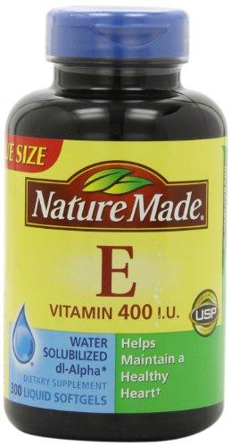 Nature Made Vitamin E 400IU, 300 Softgels