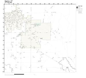 Amazon.com: ZIP Code Wall Map of Naples, UT ZIP Code Map ...