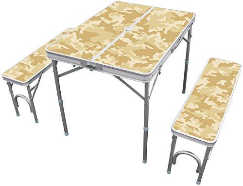 Field Life アルミセパレートテーブルセット OFTE9800SH シエラ アウトドア コンパクト収納