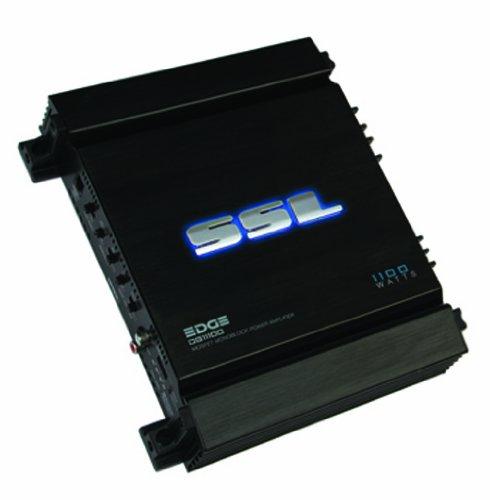 Sound Storm Laboratories Edge Series Dg11100 1100 Watt Mosfet Monoblock Power Amplifier With Remote Subwoofer Level Control