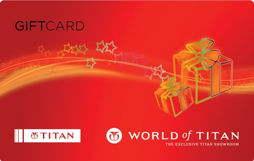 Titan Gift Card - Rs.5000