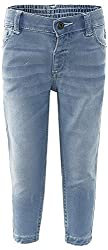Fs Mini Klub Girls Regular Fit Trousers (88Tgbfb0408 Lt Wash_8-2 - 3 Years, Blue, 2 - 3 Years)