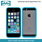 Ahha Joop Soft Bumper Case For Apple IPhone 5S / 5 - Blue / White (A-SBIH5-0J32)