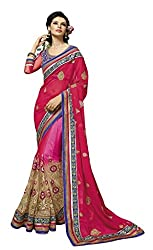 Aarah Women's Bridal Look Wedding And Party Wear Saree
