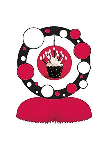 Cupcake Blowout Dots Centerpiece Party Accessory