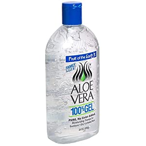 mage: Fruit Of The Earth 100 % Aloe Vera Gel - Forms a Protective Barrier which Helps Retain Moisture and Promotes Healing
