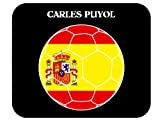 Carles Puyol (Spain) Soccer Mouse Pad