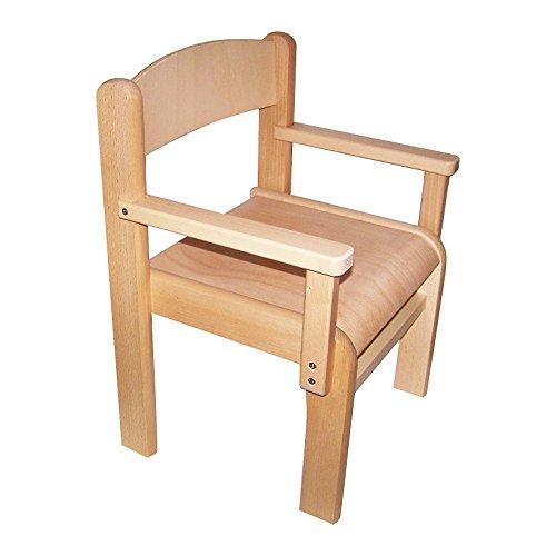 mobili in legno di faggio per bambini sedia braccioli. Black Bedroom Furniture Sets. Home Design Ideas