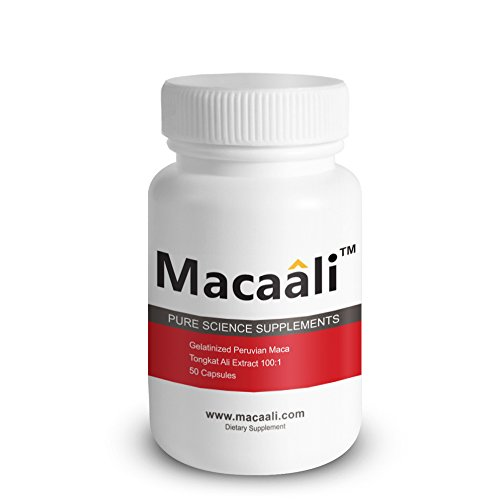 Macaali - Maca with Tongkat Ali Extract - All Natural Male Enhancement Formula combining Maca Root Powder and Tongkat Ali Extract 50 capsules - 1