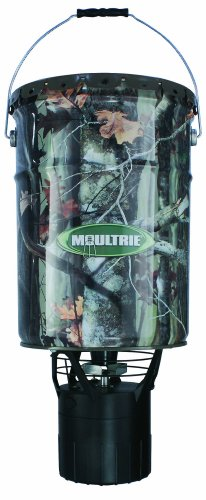 Find Discount Moultrie 6.5 Gallon Pro Hunter Hanging Feeder
