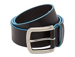 Breakbounce Men's Leather Belt (8907066079921_Medium_Black)