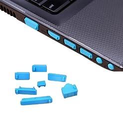 Futaba Laptop Dust Plugs - Skyblue