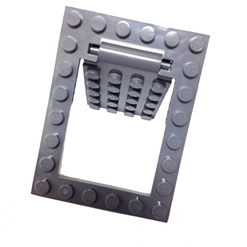 Lego parts modified plate 4 x 5 with trap door hinge and door frame complete assembly lazada - Trap door hinges ...
