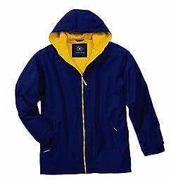 Charles River Apparel Unisex Adult Enterprise Jacket, XX-Large, Navy/Gold