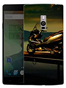 """Humor Gang Scooty Life Printed Designer Mobile Back Cover For """"OnePlus Two"""" (3D, Matte, Premium Quality Snap On Case)"""