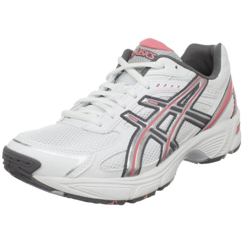ASICS Women's GEL-170TR Training Shoe,White/Silver/Coral,10 2E