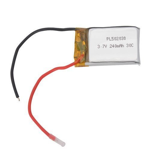 Teenitor Syma S107/S107G RC Helicopter Spare Parts Replacement Part S107-19 3.7v 240mAh Li-poly Battery