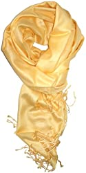 LibbySue-A Luxurious Pashmina Blend Scarf in Soft Pastel Shades of Color