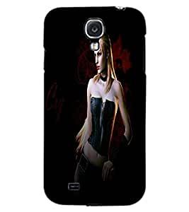 SAMSUNG GALAXY MEGA 6.3 ACTION GIRL Back Cover by PRINTSWAG