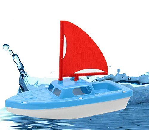 Dazzling Toys Bath and Sand Plastic Sailboat.