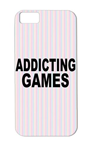 Skid-Proof Tpu Video Games Addicting Geek Game Gaming Pc Gaming Online Free Gamer Black Addicting Games For Iphone 5C Protective Hard Case front-609694