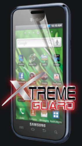 XtremeGUARD© T-Mobile Samsung VIBRANT T959 Screen Protector (Ultra CLEAR)(XTREMEGUARD© BULK Packaging)