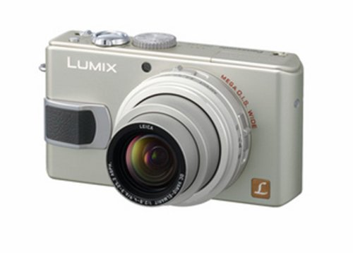 Panasonic DMC-LX2EBS Digital Camera - Silver (10.2MP, 4x Optical Zoom) 2.8