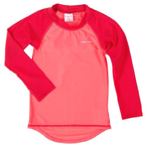 Polarn O. Pyret Rashguard Uv Swim Top (Baby) - 6-12 Months/Azalea Pink front-524194
