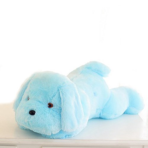 Glowing Colorful Luminous LED Light Plush Pillow Stuffed Toys