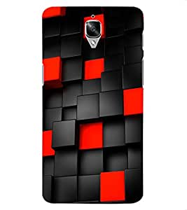 ColourCraft Printed Design Back Case Cover for OnePlus Three