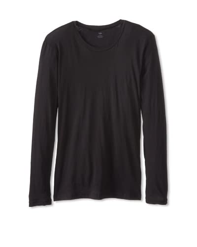 LnA Men's Long Sleeve Crew Neck Tee