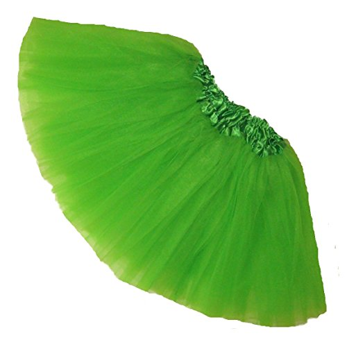 Southern Wrag Company Big Girls Adult St Patricks Day Tutu Waist 20-44 Length 11
