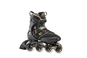 K2 Sports Ladies Velocity 50Th Anniversary 2012 Inline Skates(Black Gold) by K2