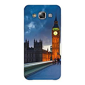 Special London City Multicolor Back Case Cover for Galaxy E7