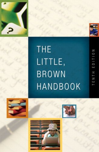 Little, Brown Handbook (with What Every Student Should Know About Using a Handbook) Value Package (includes MyCompLab St