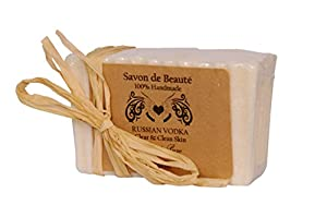 Saint Pure Spa Russian Vodka Luxury Sea Salt Spa Bath Soap, 150g