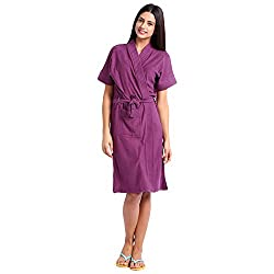Superior Womens Bathrobe (Violet)