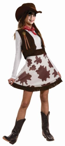 Forum Novelties Cowgirl Child Costume, Small front-865840