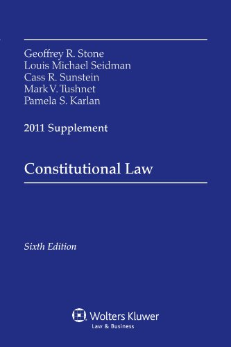 Constitutional Law, 2011 Supplement
