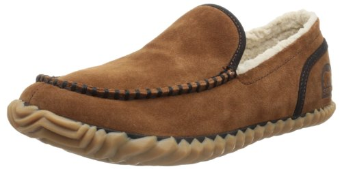 Sorel Sorel Dude Moc, Pantofole Uomo, Marrone (Braun (Grizzly Bear 242), 46 EU (12 Herren UK)