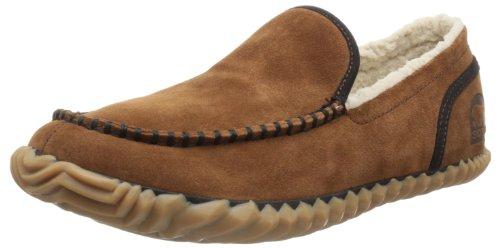 Sorel Sorel Dude Moc, Pantofole Uomo, Marrone (Braun (Grizzly Bear 242), 44 EU (10 Herren UK)