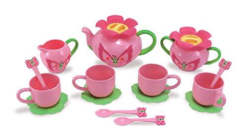 16181 - Teeservice mit Schmetterlingen