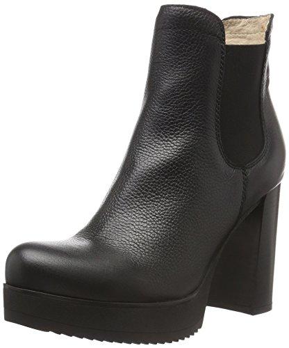 UnisaTALO_CEV - Stivali bassi con imbottitura leggera Donna , Nero (Nero (nero)), 37 EU