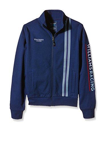 Williams Martini Racing Team Replica Kids felpa giacca, Hackett London, Formula 1, F1, Colore Blu, Valtteri Bottas, Felipe Massa