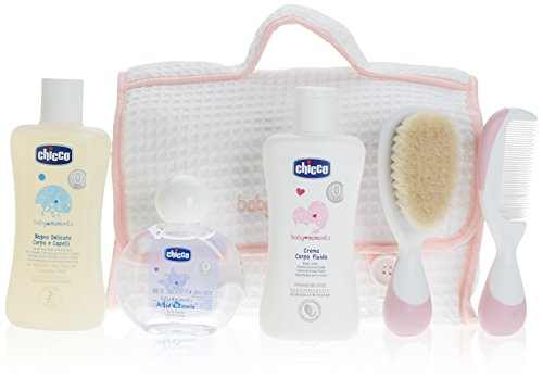 Chicco Baby Moments Beauty All-You-Need Cofanetto Regalo, Bimba, Rosa