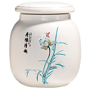 Lotus Flower Canister