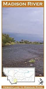 Amazon.com  Madison River 11x17 Fly Fishing Map  Fishing Charts And Maps  Sports U0026 Outdoors