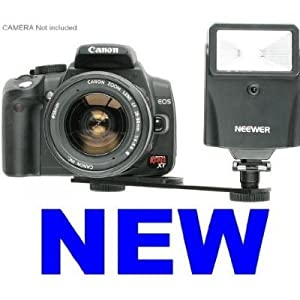 NEEWER Auto Digital Slave Flash For Sony/Canon/Nikon/Pentax/T1i/XS/XTI/ XSi & All Cameras